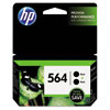 HP 564, (C2P51FN) 2-pack Black Original Ink Cartridges