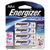 Energizer Lithium Batteries, AA, 4/Pack