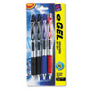 Avery eGEL Roller Ball Retractable Gel Pen, Assorted Ink, Medium, 4 per Set