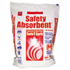 Safe T Sorb All-Purpose Clay Absorbent, 50lb, Poly-Bag
