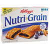 Kellogg's Nutri-Grain Cereal Bars, Blueberry, Indv Wrapped 1.3oz Bar, 16/Box