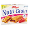 Kellogg's Nutri-Grain Cereal Bars, Raspberry, Indv Wrapped 1.3oz Bar, 16/Box