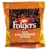 Folgers Coffee, Colombian, Ground, 1.75oz Pack, 42/Carton