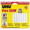 UHU Tac Adhesive Putty, Removable/Reusable, 4.23 oz, Each