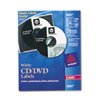 Avery Laser CD/DVD Labels, Matte White, 250/Pack