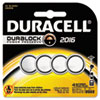 Button Cell Lithium Battery #2016, 4/Pk