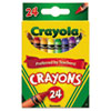 Crayola Classic Color Pack Crayons, 24 Colors/Box