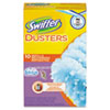 Swiffer Refill Dusters, Dust Lock Fiber, Yellow, 10/Box