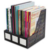 Advantus Literature File, Three Slots, Black