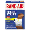 BAND-AID Flexible Fabric Adhesive Tough Strip Bandages, 1