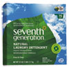 Seventh Generation Natural Laundry Detergent, Free & Clear, 112oz Box