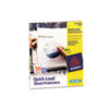 Avery Quick Top & Side Loading Sheet Protectors, Letter, Non-Glare, 50/Box
