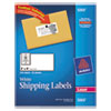Avery Shipping Labels with TrueBlock Technology, 2 x 4, White, 250/Pack