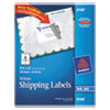 Avery Shipping Labels with TrueBlock Technology, 3-1/2 x 5, White, 100/Pack