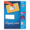 Shipping Labels, 2 x 4, White, 100/Pack