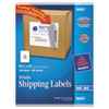 Avery Shipping Labels with TrueBlock Technology, 8-1/2 x 11, 100/Box