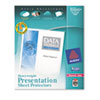 Avery Top-Load Poly Sheet Protectors, Heavy, Letter, Diamond Clear, 200/Box