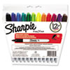 Sharpie Permanent Markers, Fine Point, Assorted, 12/Set