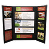CFC-Free Polystyrene Foam Premium Display Board, 36 x 48, Black, 12/Carton