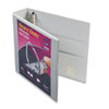 "Heavy Duty Nonstick View Binder w/Locking One Touch EZD Rings, 2"" Capacity, Gray"