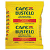 Caf� Bustelo Coffee, Espresso, 2oz Fraction Pack, 30/Carton