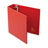 "Heavy-Duty Binder with One Touch EZD Rings, 3"" Capacity, Red"
