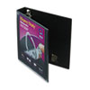 "Heavy-Duty View Binder with One Touch EZD Rings, 1-1/2"" Capacity, Black"
