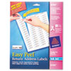 Easy Peel Inkjet Return Address Labels, 2/3 x 1-3/4, White, 1500/Pack