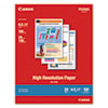 Canon High Resolution Paper - CNM 1033A011