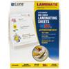 C-Line Cleer Adheer Nonglare Laminating Film, 2 mil, 9 x 12, 50/Box