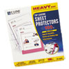 Heavyweight Polypropylene Sheet Protector, Non-Glare, 11 x 8 1/2, 100/BX