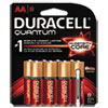Duracell Quantum Alkaline Batteries with Duralock Power Preserve Technology, AA, 8/Pk