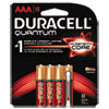 Duracell Quantum Alkaline Batteries with Duralock Power Preserve Technology, AAA, 8/Pk