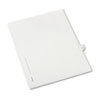 Allstate-Style Legal Side Tab Divider, Title: 9, Letter, White, 25/Pack