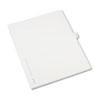 Allstate-Style Legal Side Tab Divider, Title: 14, Letter, White, 25/Pack