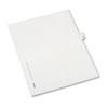 Allstate-Style Legal Side Tab Divider, Title: 15, Letter, White, 25/Pack