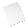Allstate-Style Legal Side Tab Divider, Title: 32, Letter, White, 25/Pack