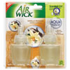 Air Wick 81262 Scented Oil Refill, Vanilla Butter Cream Cupcake, .67oz, Clear, 2/Pack RAC81262 RAC 81262