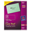 Avery Clear Easy Peel Mailing Labels - AVE 15663
