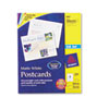 Avery Postcards for Inkjet Printers, 4-1/4 x 5-1/2, Matte White, 4/Sheet, 200/Box