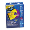 Avery CD/DVD Design Kit, Matte White, 40 Inkjet Labels and 10 Inserts
