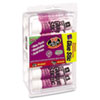 Avery Permanent Glue Stics, Purple Application, .26 oz, 18/Pack