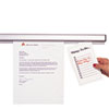 Grip-A-Strip Display Rail, 48 x 1 1/2, Aluminum Finish