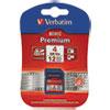 Verbatim Premium SDHC Memory Card, Class 10, 4GB
