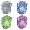 Fabric Panel Wall Clips, Standard Size, Assorted Metallic Colors, 20/Box