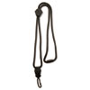 Advantus Executive Braided Lanyard, Swivel J-Hook Style, 36