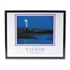 &quot;Vision Lighthouse&quot; Framed Motivational Print, 30 x 24