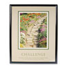 """Challenge""Framed Motivational Print, 24 x 30"