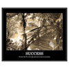 &quot;Success&quot; Framed Sepia Tone Motivational Print, 30 x 24