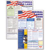 State/Federal Labor Lawith Legally Required Multi-Colored Poster, 24 x 30